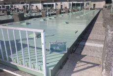 水道局タンク蓋塗装