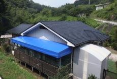 日置市戸建屋根塗装工事