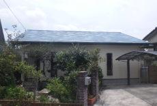 冷水戸建屋根外壁塗装改修工事
