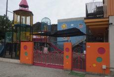 幼稚園遊具ほか塗装工事