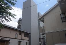上荒田町立体駐車場屋根・外壁改修工事